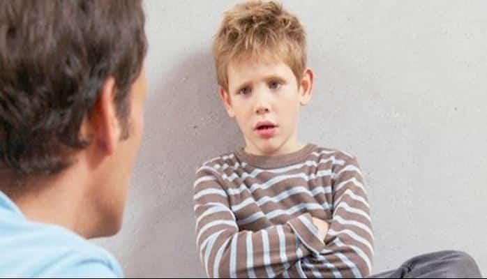 Çocuğunuz kızacağınız bir şey söylediğinde...
