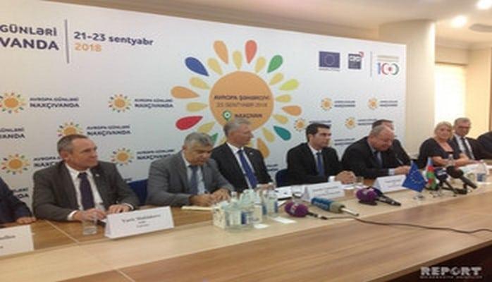 В Нахчыване состоялся бизнес форум в рамках дней ЕС