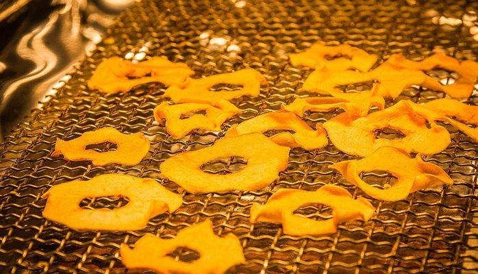 Яблочные чипсы начали производить в Шида Картли