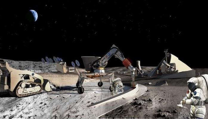 Для добычи полезных ископаемых на Луне разработают особую технику