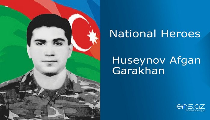 Huseynov Afgan Garakhan