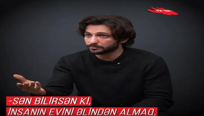 """""""Sən bilirsən ki, insanın evini əlindən almaq nə deməkdir?"""" (Müsahibə)"""