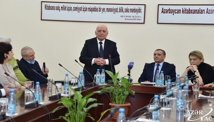 В Национальной библиотеке состоялась презентация книг Института истории, изданных на иностранных языках по инициативе Президента Ильхама Алиева
