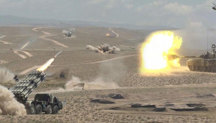 Войска Нахчыванского гарнизона приведены в состояние боевой готовности