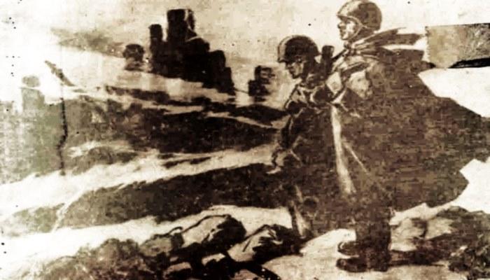 Фронтовые зарисовки: нападение на СССР глазами художника К.Кязимзаде