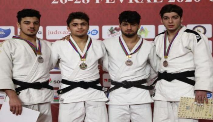 Gənc cüdoçuların Azərbaycan birinciliyində fərdi yarışları başa çatdı