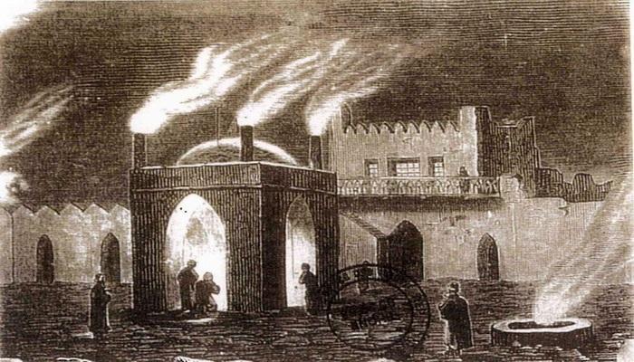 Храм вечного огня Атешгях сквозь года (ФОТО)