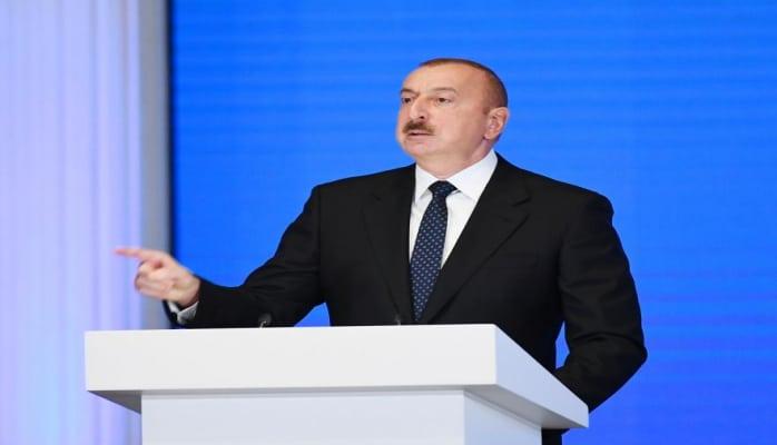 Президент Ильхам Алиев: В самые тяжелые для нас дни казна была пустой, тандем Народный Фронт-Мусават разграбил ее, разграбил фонд драгоценностей