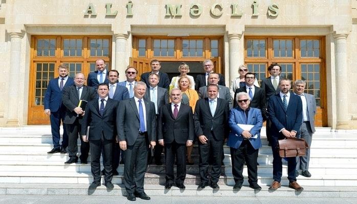 Встреча в Верховном Меджлисе Нахчыванской Автономной Республики