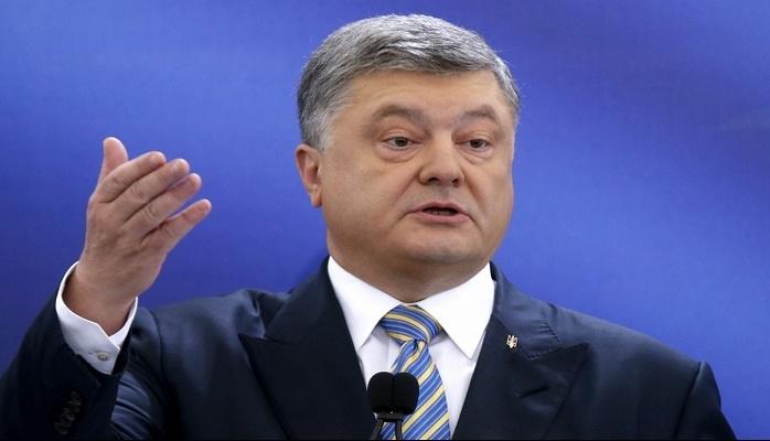 Poroşenko Ukrayna xalqına söz verdi