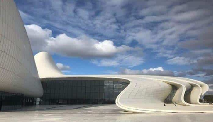 Британец: мое самое любимое здание в мире Центр Гейдара Алиева.