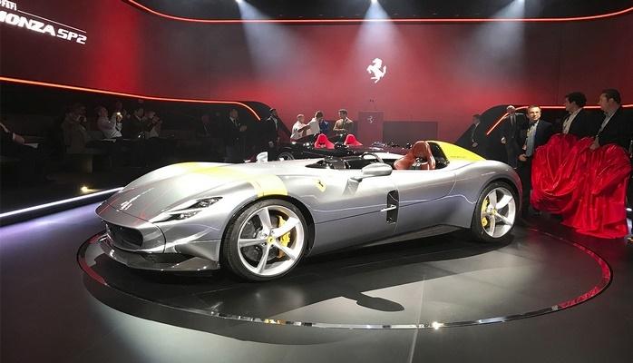 Ferrari показала самый мощный гиперкар в мире