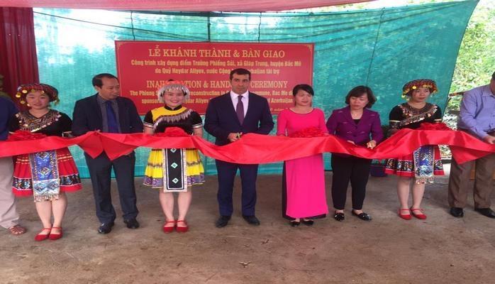 При поддержке Фонда Гейдара Алиева во Вьетнаме построена начальная школа