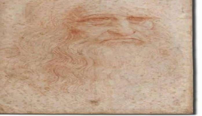 Leonardo da Vinçiyə aid olduğu ehtimal edilən saçın DNT analizi aparılacaq
