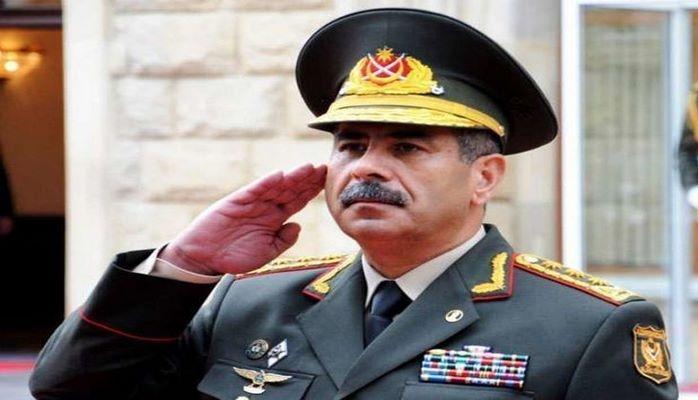 Закир Гасанов собрал командиров армии
