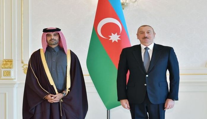 Ильхам Алиев принял нового посла Катара