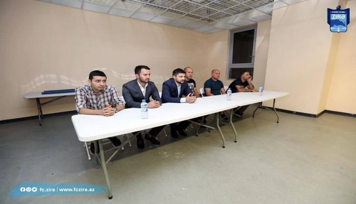 """""""Zirə""""nin yeni məşqçilər heyəti komandaya təqdim olunub"""
