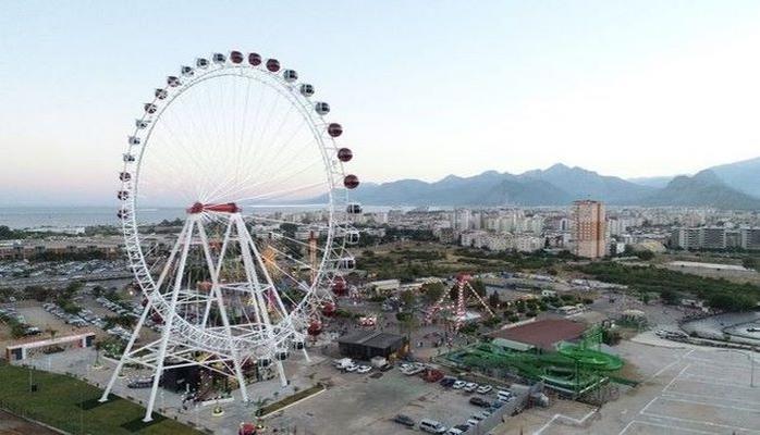 Virtual karabakhнаверх В Анталье открылось самое высокое в Турции колесо обозрения