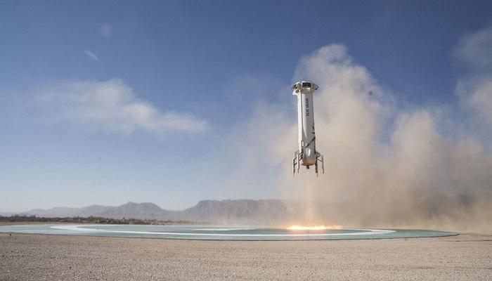SpaceX'in En Büyük Rakibi Blue Origin, 11. Başarılı Fırlatışını Gerçekleştirdi