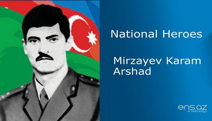 Mirzayev Karam Arshad