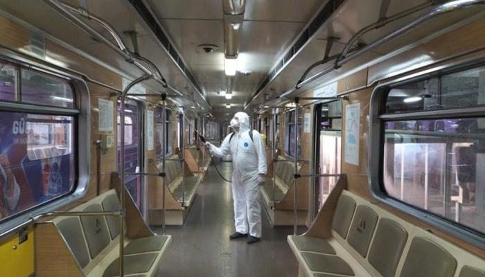 Bakı Metrosunda profilaktik koronavirus tədbirləri