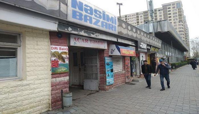 Насиминский рынок сносится