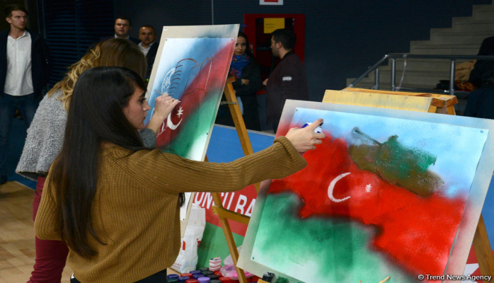 Под флагом Азербайджана - Грузия, Украина, Турция, Иран и Россия