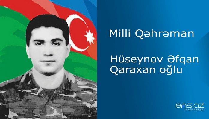 Əfqan Hüseynov Qaraxan oğlu