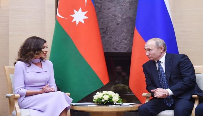 Первый вице-президент Мехрибан Алиева: Отношения между Азербайджаном и Россией имеют добрые, прочные традиции добрососедства и дружбы