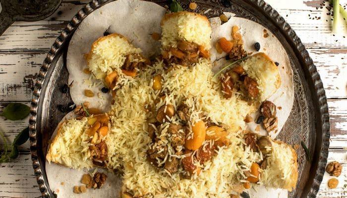 Azərbaycanlı kulinar İstanbulda yüz kiloluq şah plov bişirib
