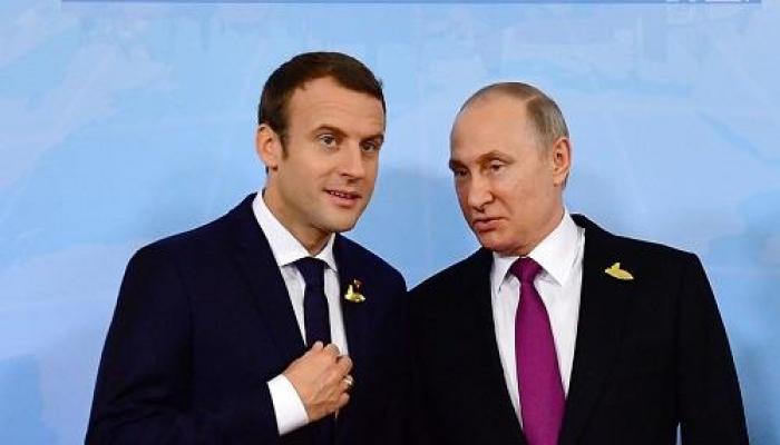 Путин и Макрон обсудили коронавирус