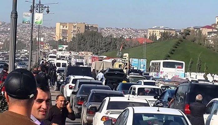 Начались работы по расширению дороги Баку-Сумгайыт