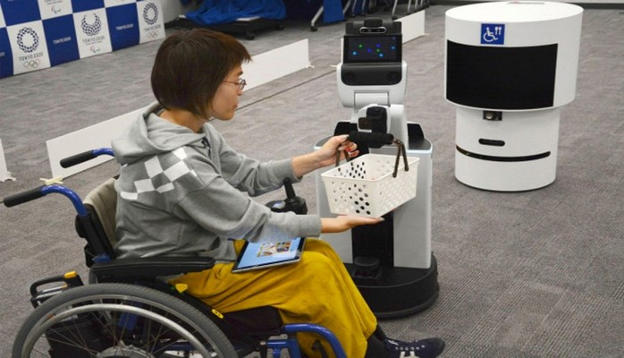 """""""Tokio 2020"""" Olimpiya Oyunları üçün robotlar ictimaiyyətə təqdim edilib"""
