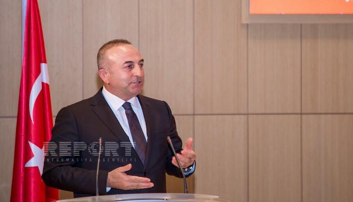 """Mövlud Çavuşoğlu: """"Qondarma """"erməni soyqırımı""""nı qəbul edənlər Xocalı faciəsinə susur"""""""