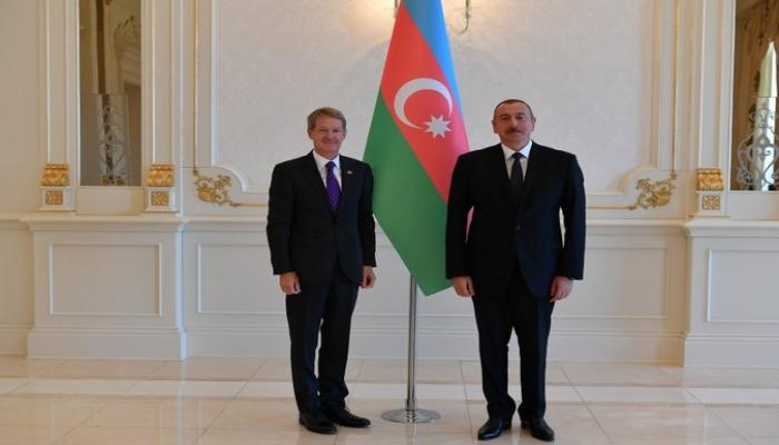 Президент принял верительные грамоты новоназначенных послов Великобритании и Латвии