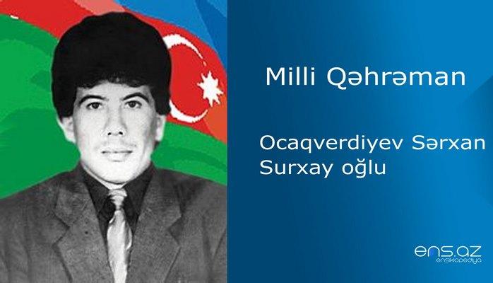Ocaqverdiyev Sərxan Surxay oğlu