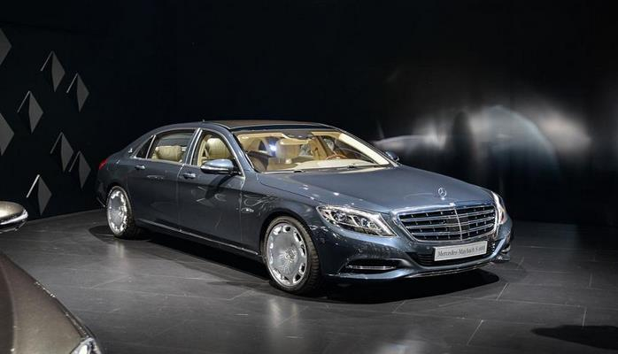 Роскошный седан Mercedes-Maybach S600 Pullman Guard появился на видео