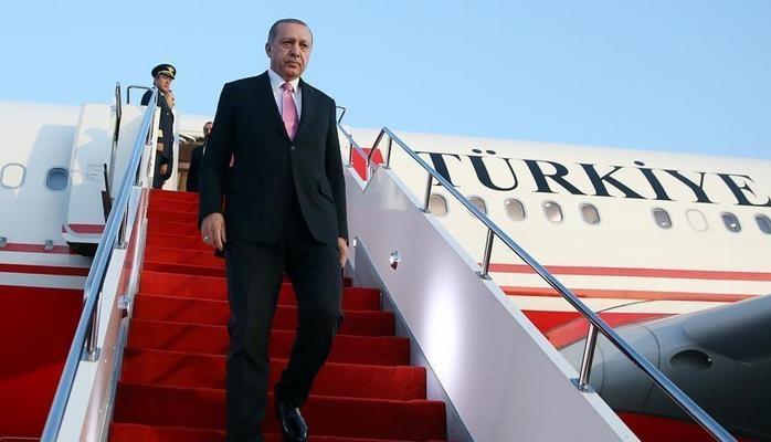 Эрдоган отправился с визитом в Венгрию