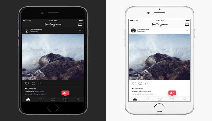 Пользователям Instagram будет доступен «ночной режим»