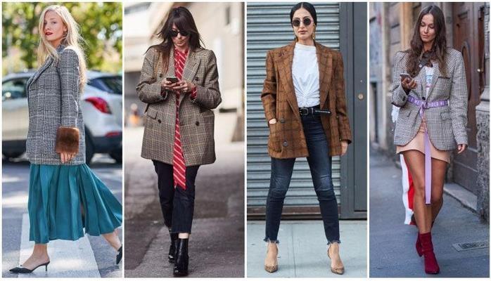 Payızın effektli trendi: Dama-dama pencəklər