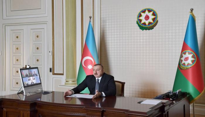 Президент Ильхам Алиев: Мы обеспечим общественными работами 90 тысяч безработных
