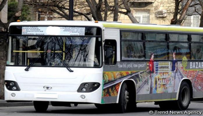 В Баку изменен маршрут движения двух автобусов