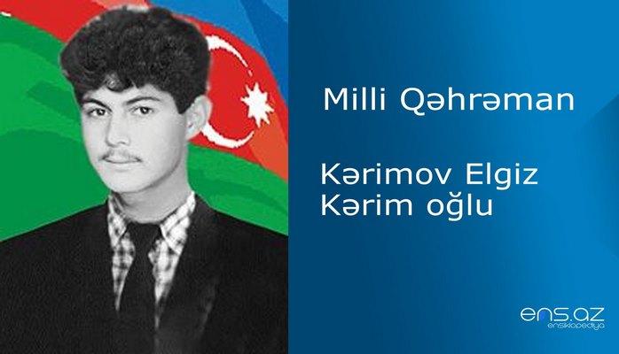Elgiz Kərimov Kərim oğlu