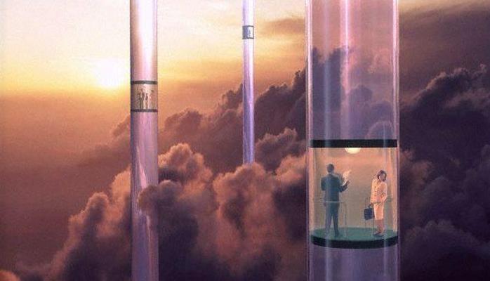 Японцы готовятся испытать космический лифт
