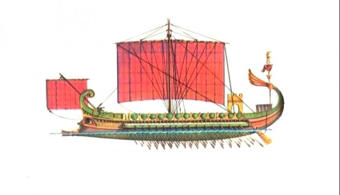 Qədim dünyanın ən nəhəng gəmisi