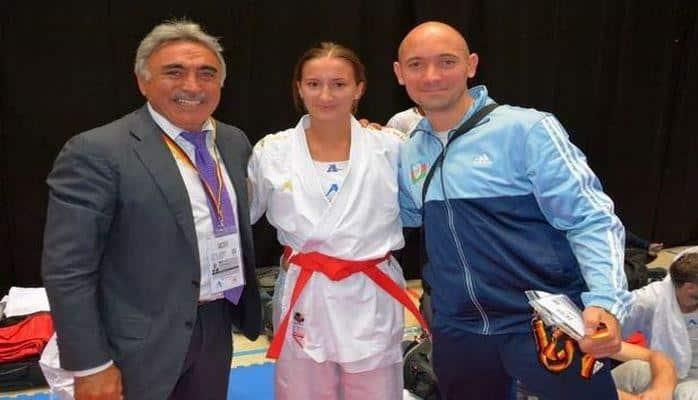 Азербайджанская каратистка пробилась в финал