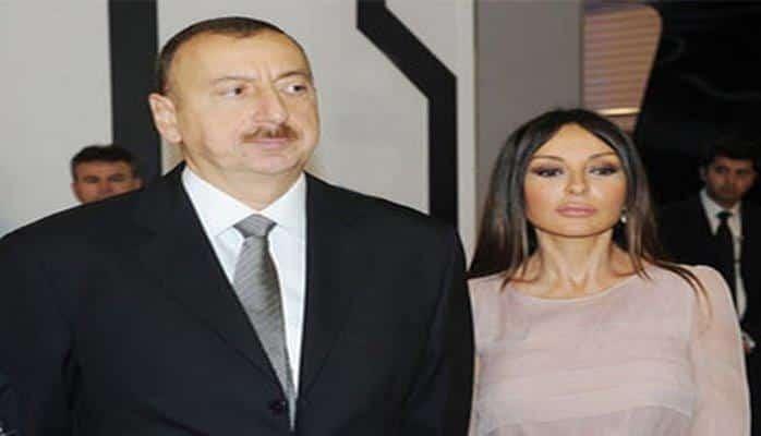 Президент Ильхам Алиев и Первая леди Мехрибан Алиева приняли участие в открытии Карабахского коневодческого комплекса