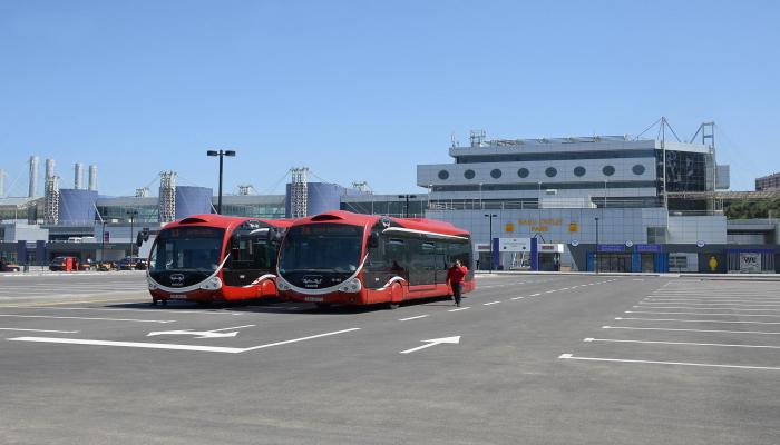 На территории Бакинского международного автовокзала сдан в эксплуатацию новый хаб