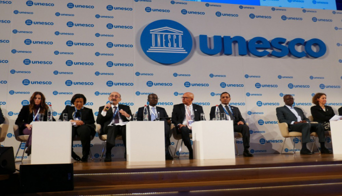 UNESCO baş qərargahında Mədəniyyət nazirlərinin birinci forumu keçirilir