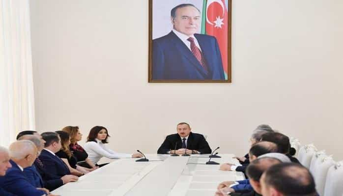 """Prezident: """"Biz demişdik ki, onların qəhrəmanları cinayətkardır, qorxaqdır, indi bunu erməni xalqı deyir"""""""